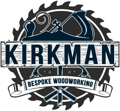 The Kirkman Bespoke Woodworking logo